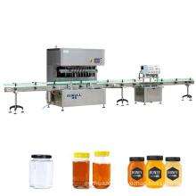 Automatic honey glass jar filling machine