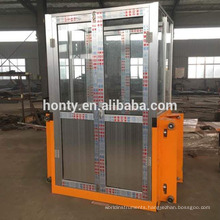6M 300KG CE approved hydraulic vertical warehouse cargo lift for sale