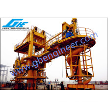 2000bags / Hour Screw Bagged Cement Barge Loader System