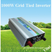 1000W Grid tied power inverter for solar panels and wind turbines