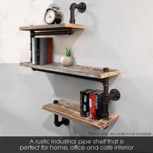 Modern Ladder Pipe Wall Bookshelf Bracket