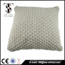 Y/D Cable Knit solid sofa decorative Cushion TSA4-150267