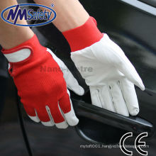 NMSAFETY leather rigger gloves
