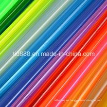 Material de pantalla de hoja rígida del PVC