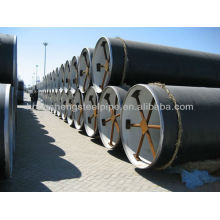 3PE Antikorrosionsschicht Stahlrohr für Öl und Erdgas.