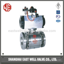 Gas station ball valve