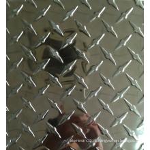 Folha de piso de alumínio