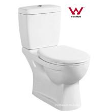 Australiano Proveedor estándar Watermark Cuarto de baño Washdown Dos piezas de tocador (6003)