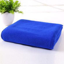 Microfiber towel with anti-static