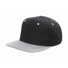 Hecho de cuero negro snapback sombrero al por mayor