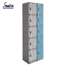 Code lock high quality plastic abs locker wholesale