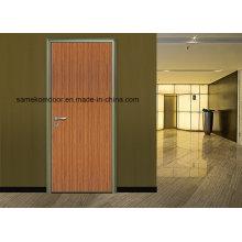 Portes modernes en mélamine de bois