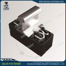 KZ1501 trilho de fixação com clipe rápido