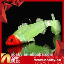 NOEBY 65mm attelage de pêche au thon doux de 65mm