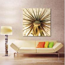 Pintura al óleo moderna brillante de la flor de la vida