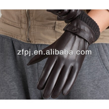 Schaffell geprägte Männer Stil Kleid Leder Handschuhe