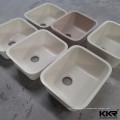 В kkr искусственная каменная твердая поверхностная раковина кухни undermount