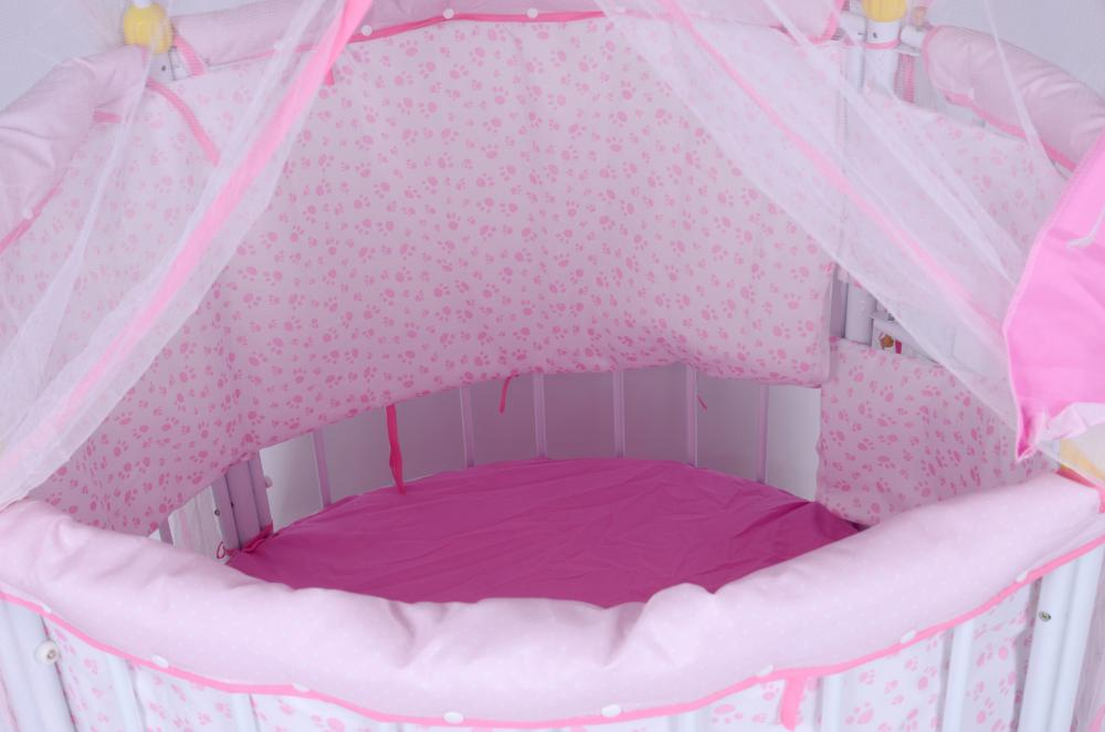 Enclosure with Door Baby Bed and Playpen