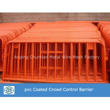 Barrière portative galvanisée plongée chaude de contrôle de foule pour le trafic de commande
