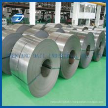 Feuille de titane mince polie d'ASTM B265