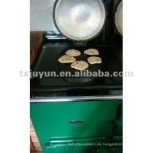 Teflon reutilizable barbacoa resistente al calor de la alfombra de cocina