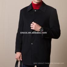 16STC8201 Manteau d'hiver en cachemire pour homme