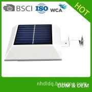Solar 3m wall lamp human body induction garden lamp motion sensor led solar fence light 3m garden lighting pole light