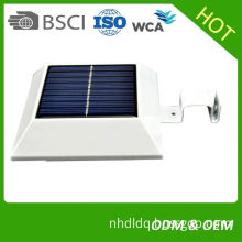 Solar 3m wall lamp human body induction garden lamp motion sensor led solar fence light 3m garden lighting pole light
