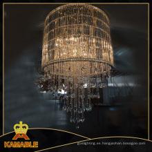 Contemporáneo proyecto de cristal candelabros de iluminación (ka623)