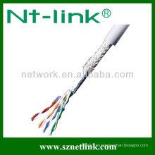 SFTP sólido 24awg lan cable cat5e