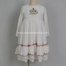 Kids Little Girl Embroidery Floral Gown Dresses