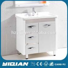 2014 Oriente Medio Hot Sell diseño moderno impermeable gabinete de baño de PVC
