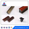 Wood color finish aluminium extrusion profiles for window