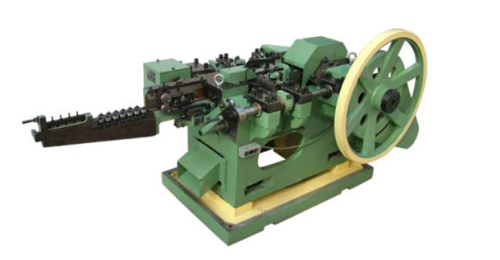 Heavy Duty Low Noise Automatic Nail Making Machine