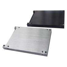 Prototipo de chapa de precisión con superficie cepillada para productos electrónicos (LW-03167)