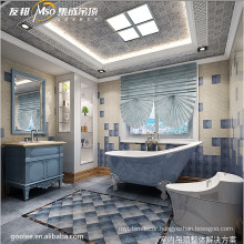 china supplier Mediterranean style suspended ceiling for interior decoration