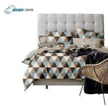 Chinese Jacquard 100% Polyester Luxury Home Bedding Set