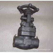 Válvula de portão forjada completa com poro (J61H)