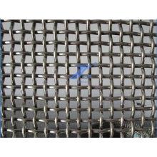 Malla de alambre prensada para la detección de minas