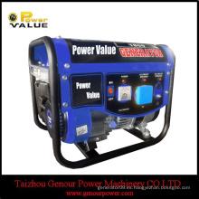 1kw 1000w 1.5kw 1500w generador 1000watt, generador eléctrico de la gasolina 1000w