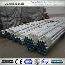 Propriétés de tuyaux en acier doux galvanisés