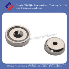 Strong Neodymium Permanent Magnet Pot Magnets