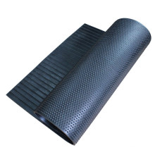 12mm Thick Round Studded Pattern Rubber Mat for Horse Stable and Cow Stall