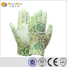 13 gauge esd pu coated gloves