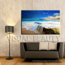 Wholesale Modern Canvas Beach Painting Picture for shop