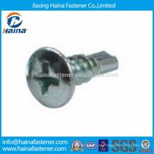 Parafuso de perfuração de cabeça de encaixe cruzado em aço inoxidável