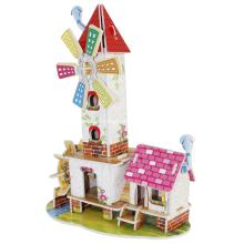 3D Mühle Turm Puzzle