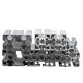 80*120mm extruded round aluminum 80*80 40160 black T-shaped aluminum 45 Series