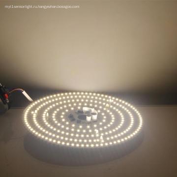 Светодиодный потолочный светильник на печатной плате Замена магнитной установки
