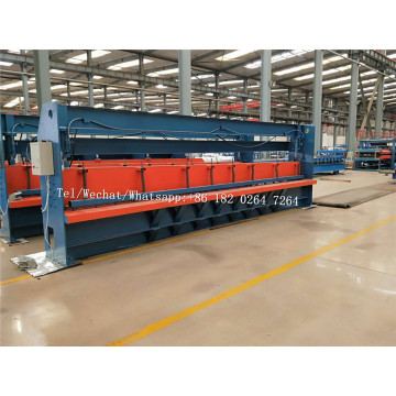 Infinite+Extension+Steel+Panel+Shear+To+Length+Machine